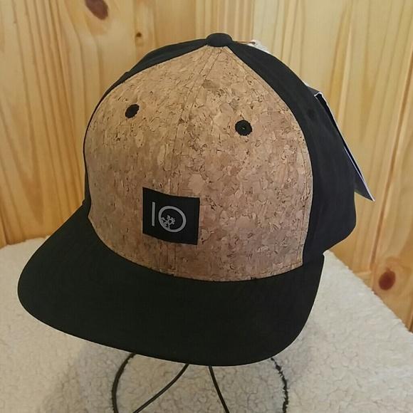 2dd7eab4f5d87 ... cheap nwt tentree freeman cork front flat brim hat e767c 54c15